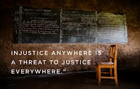 injustice anywhere threat